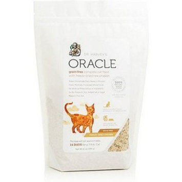 Dr. Harvey's Oracle Freeze-Dried Raw Complete Diet for Cats, 21-Ounce Bag