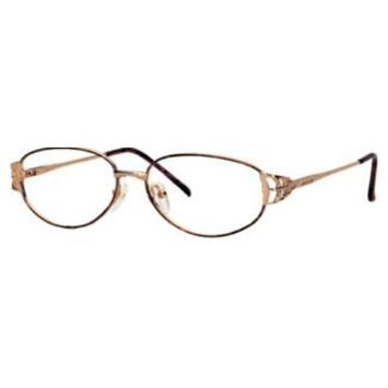 Triumph Optical Charmaign Womens Eyeglasses Gold & Black