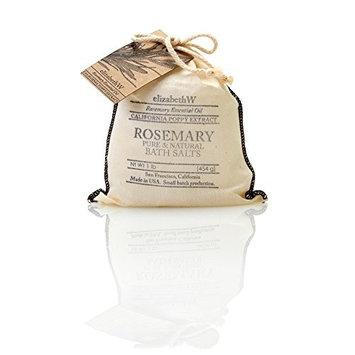 elizabethW Rosemary Bath Salts in Bag - 16 oz