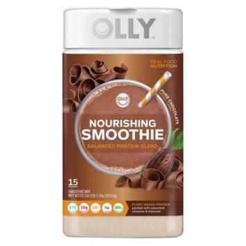 Olly Nourishing Smoothie Protein Powder - Pure Chocolate - 23.7oz