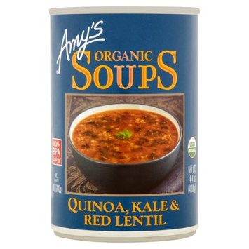 Amy's Kitchen Inc. Amys, Soup Red Lentil Kale Quino, 14.4 Oz (Pack Of 12)