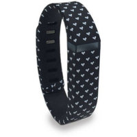 Genal Strap Inc Smart Buddie Fitbit Flex Replacement Band, Large, Heart Print