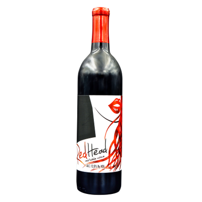 M & M Wine Cellar Inc. Dba L'uva Bella RedHead Wine; Red Blend, 12 Pack