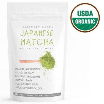 Wmbr Corp Haru Japanese Matcha (16oz) USDA Organic, Non-GMO Certified, Vegan and Gluten-Free Green Tea Powder