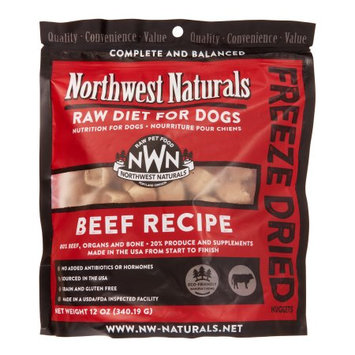 NW Naturals Beef Freeze Dried Nuggets 12oz