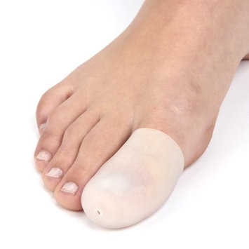 Dr Rogo Toe Caps,toe Sleeves,toe Protector, Finger Protectors- For Bunion, Hammer, Toe Rubbing Etc.. 2- Pack