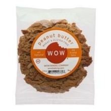 Wow COOKIES, PEANUT BTR, SNGL, (Pack of 12)