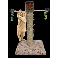 Exercise Pet Toy Cat Food Dispenser Slow Feed Interactive Feeder Prevents Overeating