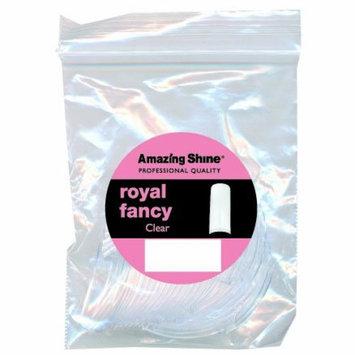 Amazing Shine Royal Fancy 50 False Nail Tips - Clear (Size 3)