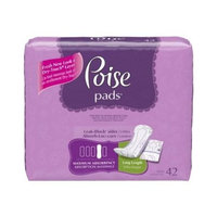 Poise Panty Liner 7.5 Inch Length Light Absorbency-Pack of 26