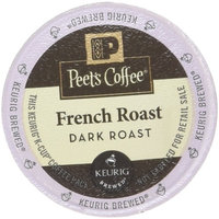 Peet's Coffee K-Cup French Roast, 10 Count (Pack of 6)