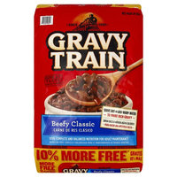 Gravy Train Beefy Classic Dry Dog Food, 15.4-Pound Bag