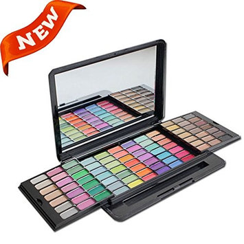 PhantomSky 84 Color Eyeshadow Makeup Palette Cosmetic Contouring Kit - Perfect for Professional and Daily Use