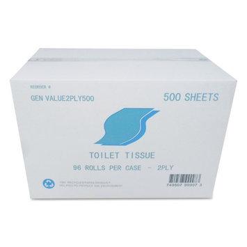 General Small Roll Bath Tissue in White