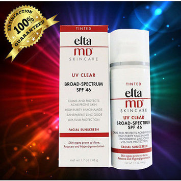 Elta MD UV Clear Facial Sunscreen, Tinted, SPF 46, 1.7 Oz