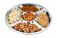 Cuisinox PLA50 4 x 14 x 14 in. Sectioned Serving Platter