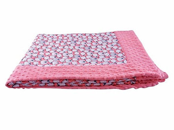 Blue Baby Bum 710560426089 Forever Baby Blanket Baa Baa One Size - Pink & White
