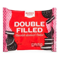 Double Filled Chocolate Crème Cookies 18 oz - Market Pantry™