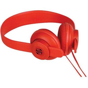 Scosche Industries, Inc. SCOSCHE On Ear Headphone w Mic Red