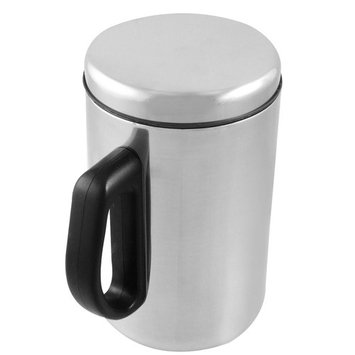 uxcell 500ml Stainless Steel Drink Container Tea Coffee Cup Mug Gift