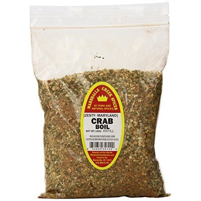 Marshalls Creek Spices Crab Boil Refill Freshly Packed in Food Grade Heat Sealed Pouches, 18 Ounce (Pack of 12)