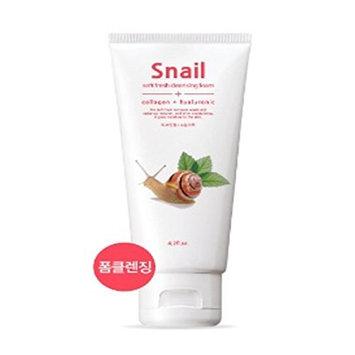 Pinup Girl So Fresh Soft Peeling Gel, Cleansing Foam (120ml 4.05 oz) (Snail)