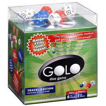 Front9 ProActive Sport DG1002 GOLO Golf Dice Game