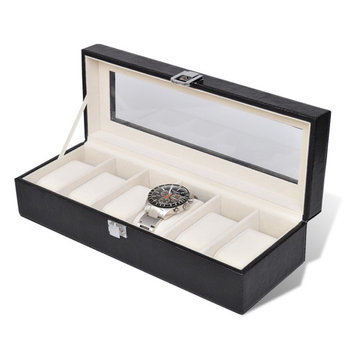 Anself Watch Box for 6 Watches