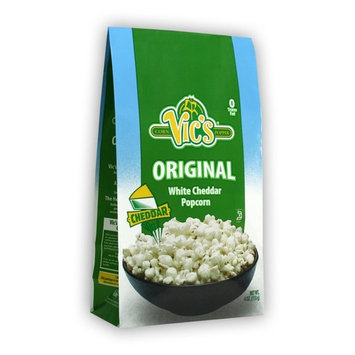 Vic's Original Popcorn, White Cheddar, 4 Ounce (Pack of 12)