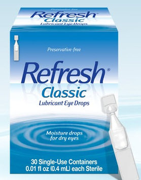 Refresh Lubricant Eye Drops, 0.01 oz.