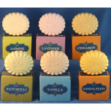Aromatherapy Fragrances Soap Gift Set - Set of 6 Bath Bars (5.2 Oz.-150 Grams) by Nag Champa Spa