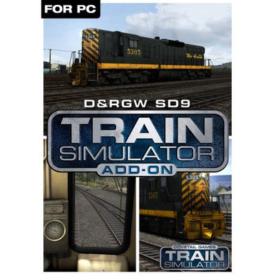 Dovetail Games Train Simulator Add-On - D;RGW SD9 Loco (PC)(Digital Download)