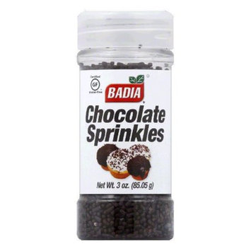 BADIA 87922 BADIA SPRINKLES CHOC - Case of 12 - 3 OZ