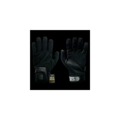 RapDom T16-PL-BLK-04 Rope Rescue Glove, Black, X Large