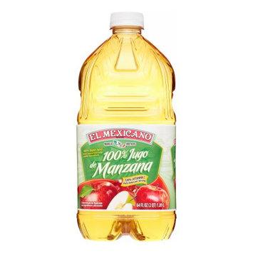 El Mexicano, 100% Apple Juice, 64 oz
