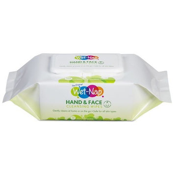 Wet-Nap Fresh Scent Antibacterial Hand Wipes, 40 sheets
