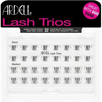 ARDELE Ardell Short/Medium Lash Trios, 32 count