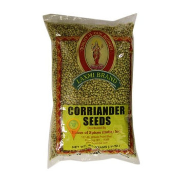 Laxmi All-Natural Traditional Indian Spices - Coriander Seeds, (400gm)