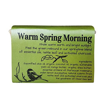 Warm Spring Morning - rosemary and lemon eucalyptus vegan bath soap with shea butter 5.8oz