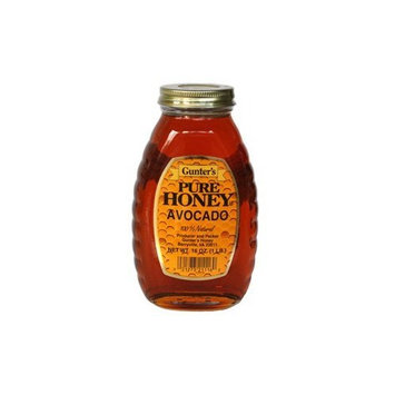 Gunter's Avocado Pure Honey, 1 LB