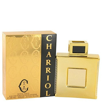 Charriol Royal Gold by Charriol Eau De Parfum Spray 3.4 oz for Men - 100% Authentic