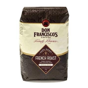 Don Francisco's French Roast, Dark Roast, Whole Bean Coffee, 28 oz. Bag