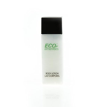 ECO Amenities Luxury Bottle Individually Wrapped 28ml Body Lotion, 72 Bottles per Case