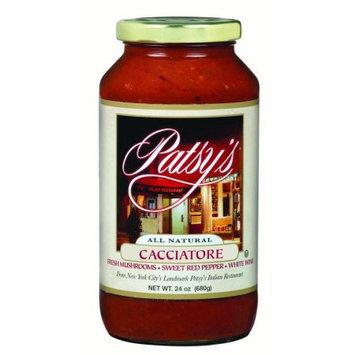 Patsys BCA80906 Cacciatore Sauce 6 x 24 oz