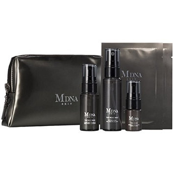 Madonna MDNA Skin The Travel Kit! A Limited Edition Travel Kit Containing Travel Sizes Of Four Essential MDNA SKIN products Such As The Face Wash, The Rose Mist, The Serum, and The Eye Mask!