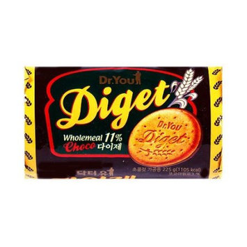 ORION Natural Biscuit Diget Choco 225g