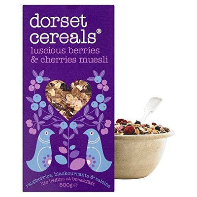 Dorset Cereals Berries & Cherries Muesli 800g - Pack of 2
