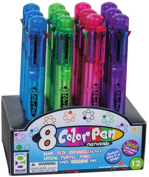 Geddes 8-Color Pen (Pack of 12)