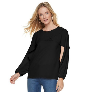 Women's Juicy Couture Layered Crepe Top