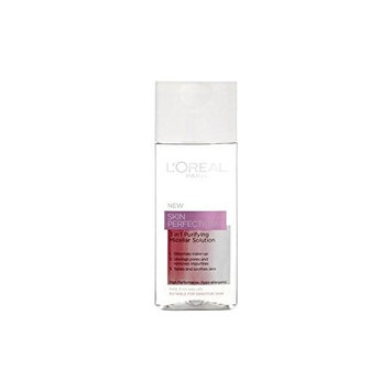 L'Oreal Paris Dermo Expertise Skin Perfection 3 In 1 Purifying Micellar Solution (200ml) (Pack of 4)
